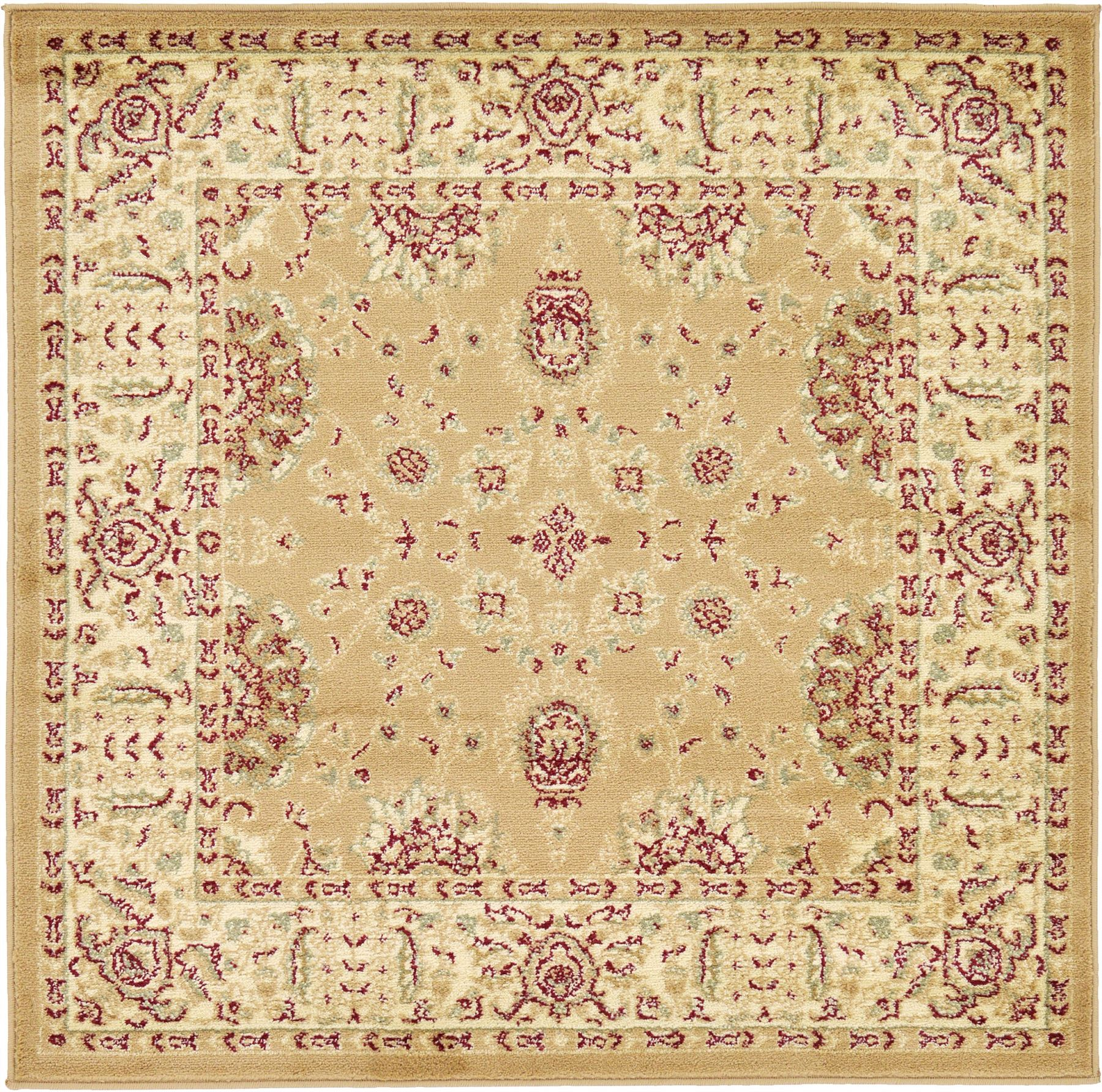 Oriental Rugs Out Of Style: A2Z Rug Traditional Oriental Area Rug Persian Style Carpet