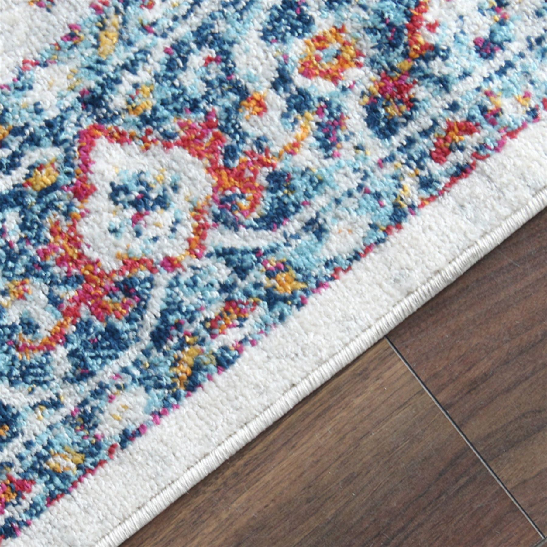 Large-Quality-Traditional-Area-Rug-Assorted-Persian-Floral-Designs-Carpet-Runner thumbnail 30