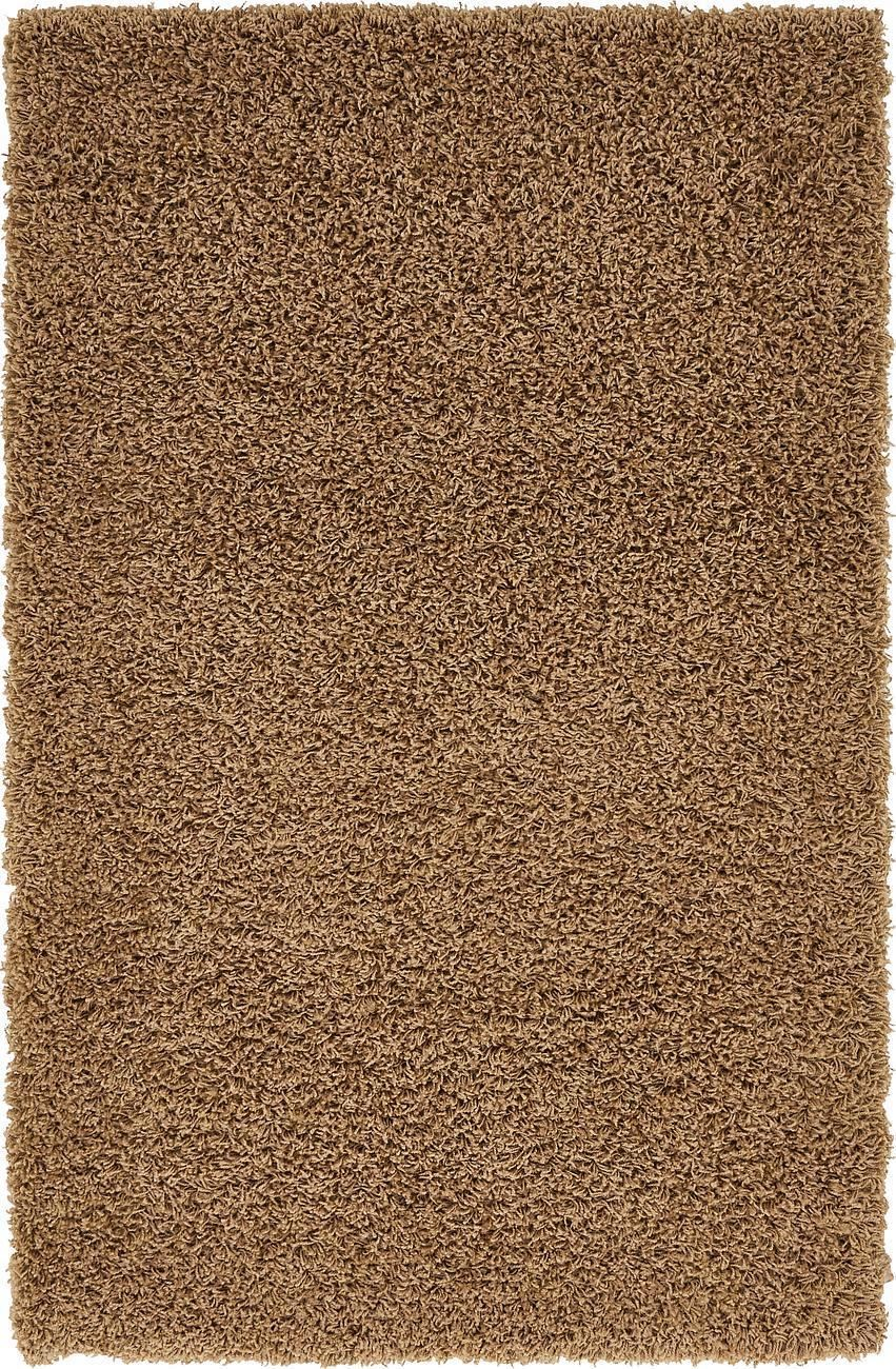 Modern Steintapete Beige ~ Dark beige shaggy rug warm soft fluffy carpet modern area