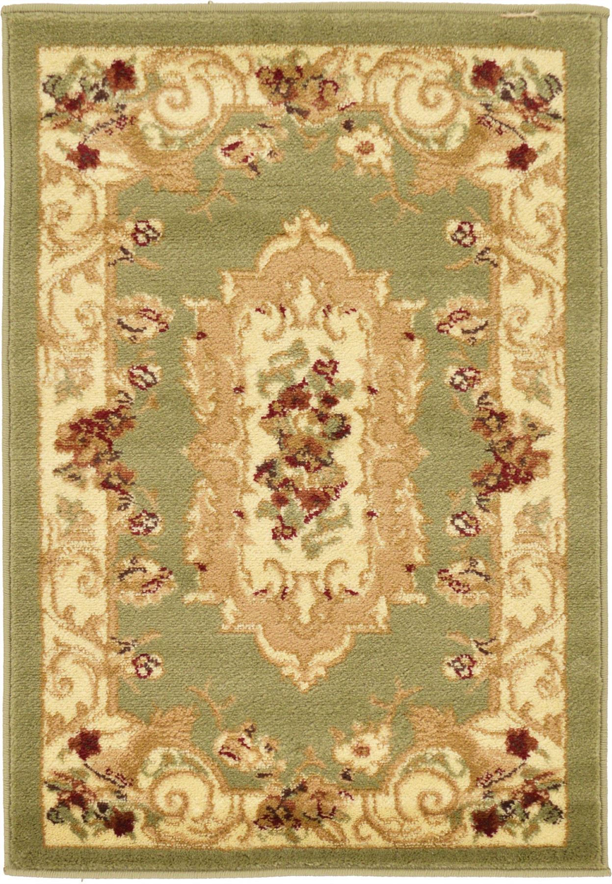 Oriental-Large-Area-Rug-Square-Traditional-Country-Round-Carpet-Medallion-Small thumbnail 31