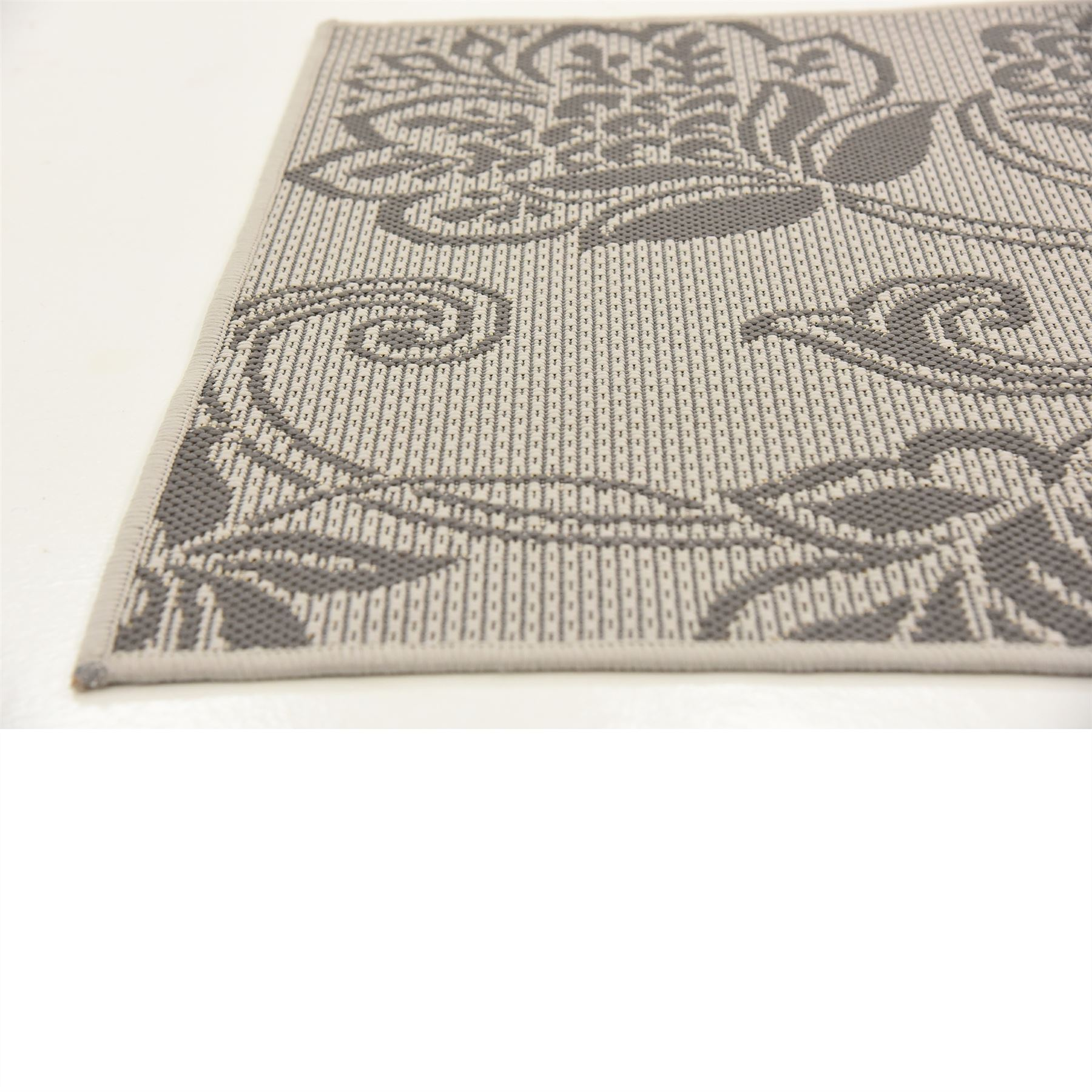 Nursery Rug Large: Modern Floral Botanical Outdoor Area Rug Contemporary Thin