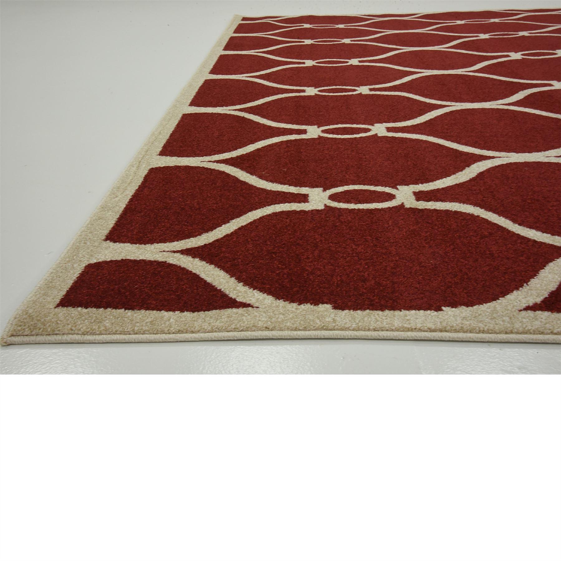 Modern Trellis Moroccan Style Area Rug Contemporary Design