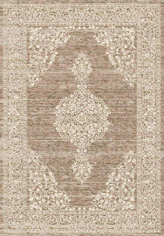 Marrone-Grande-Colore-Naturale-Tradizionale-Orientale-Tappeto-Persiano-Stile-Pavimento-Tappeti miniatura 4