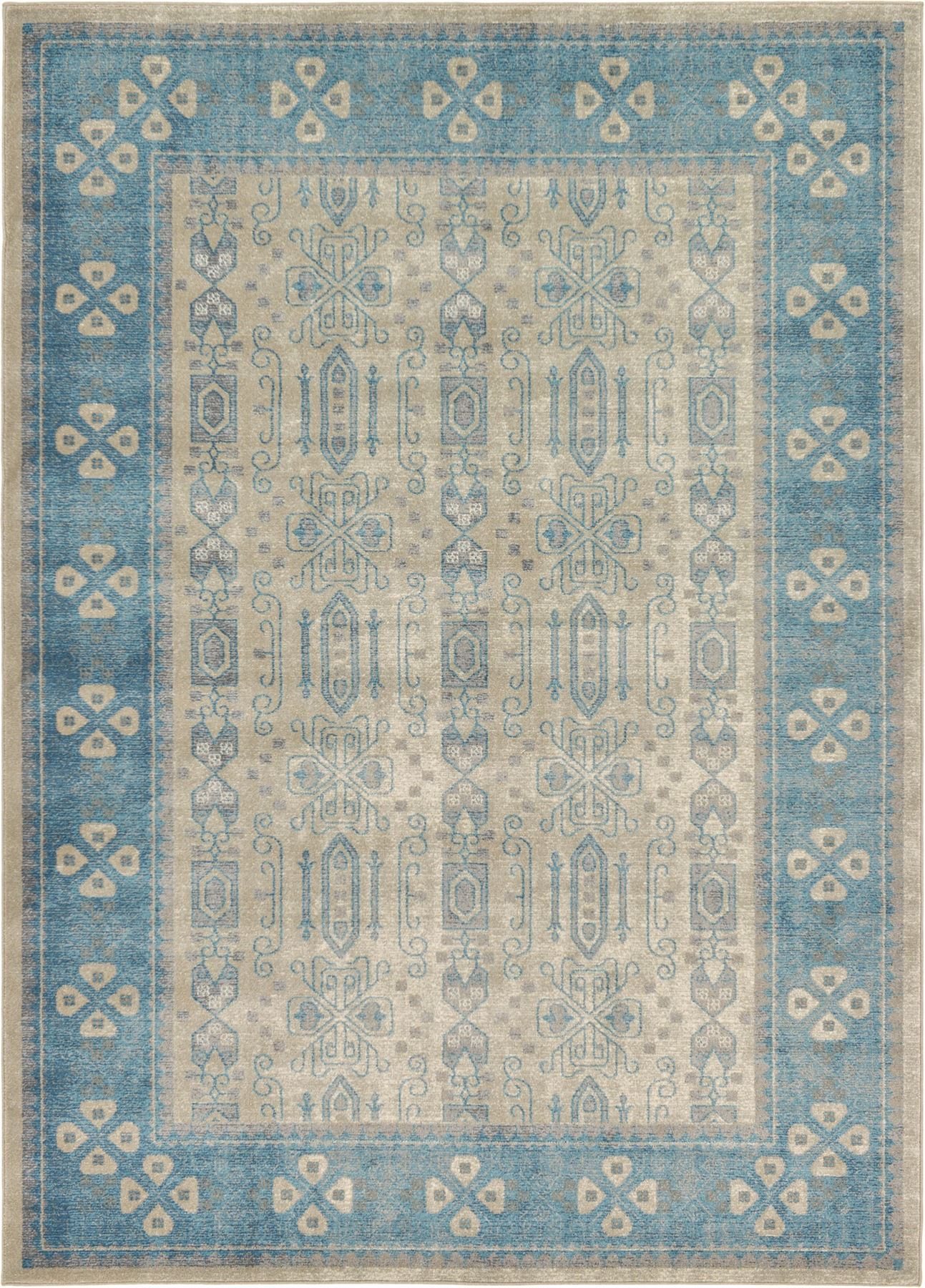 Large Oriental Area Rug Traditional Faded Vintage Design Small Carpet
