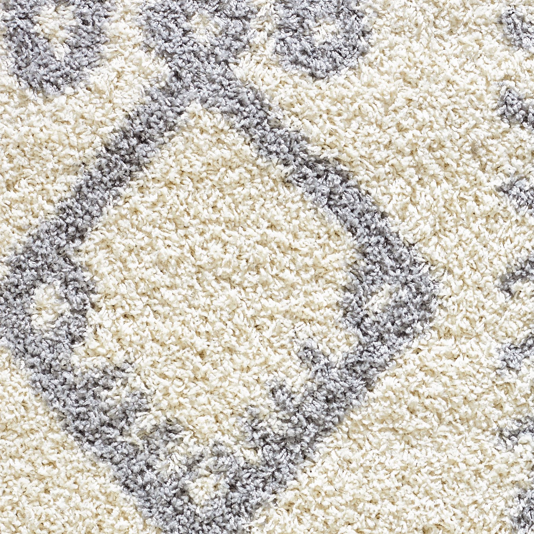 Moroccan-Shaggy-Area-Rug-Grey-White-Black-Soft-Carpet-Traditional-Berber-Designs thumbnail 22