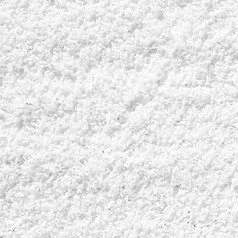 Shaggy Rug Pure White Soft Warm Carpet Modern Rugs