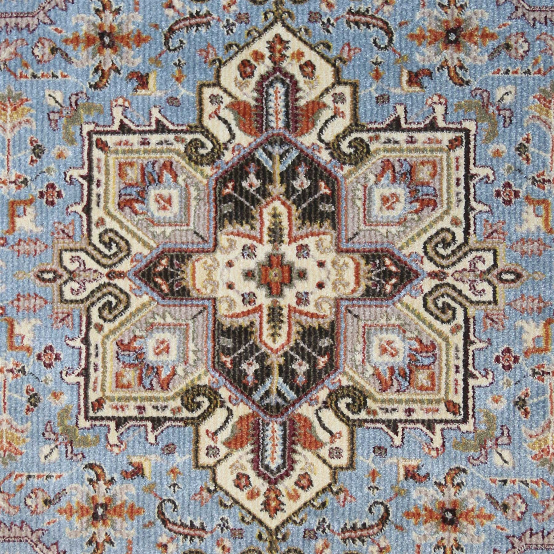 rot Blau Cream Cream Cream Traditional Rugs Vintage Area Rugs Floral Medallion Bedroom Rugs f02560