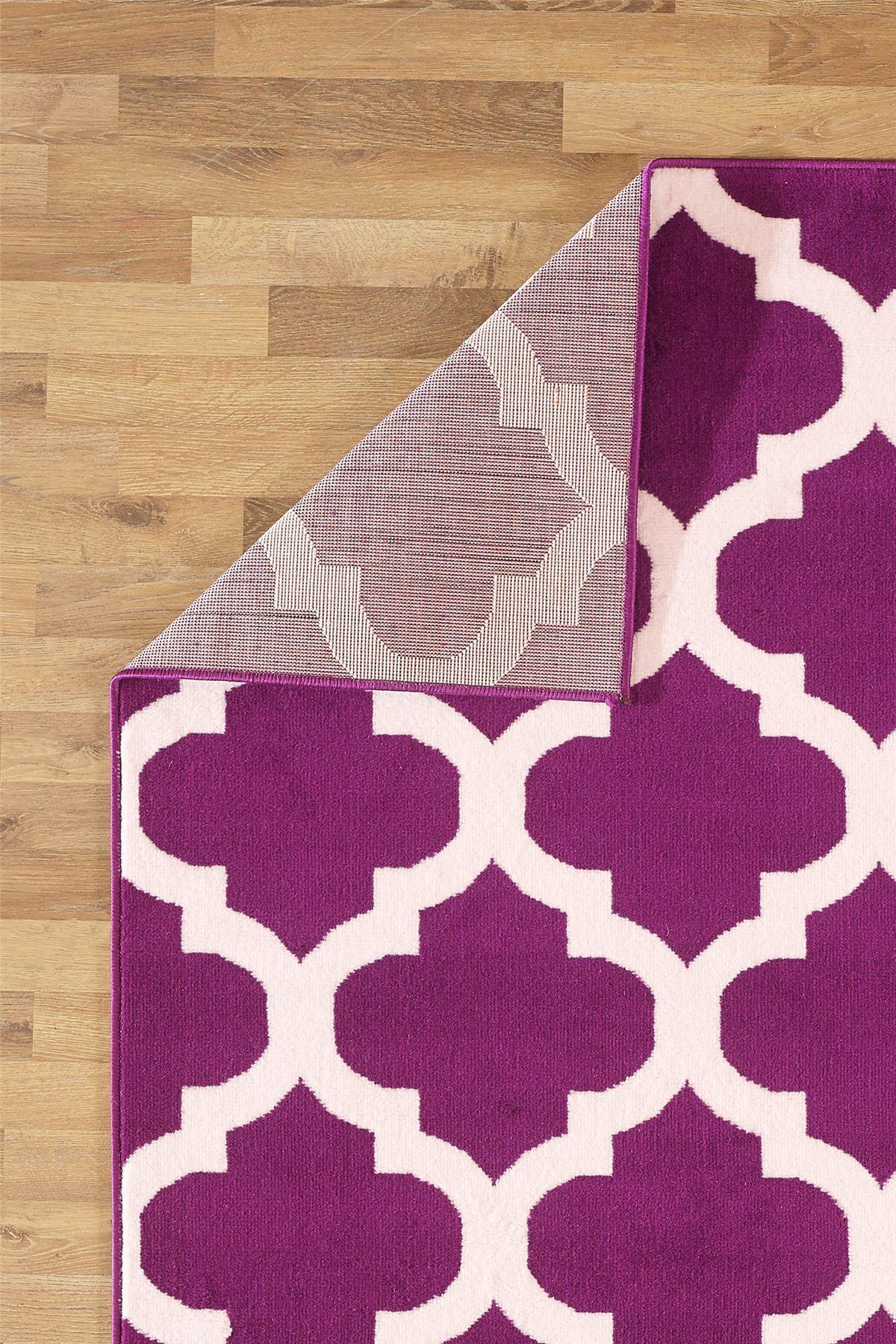 Nero-Rosso-Argento-Bianco-Viola-Moderno-Area-Tappeto-Traliccio-DESIGN-CUCINA-outdoorrug miniatura 13