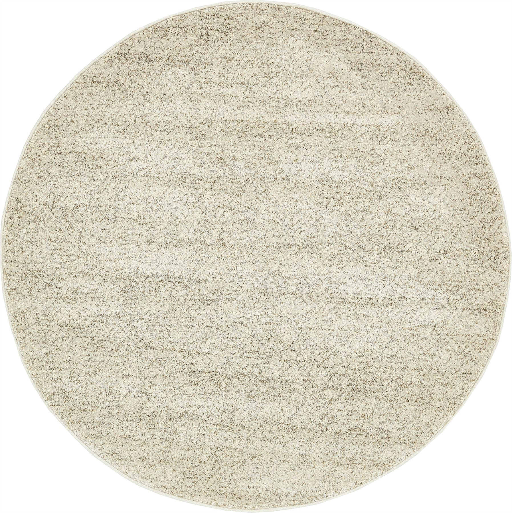 Contemporary area rug solid plain soft large warm carpet for Modern round area rugs