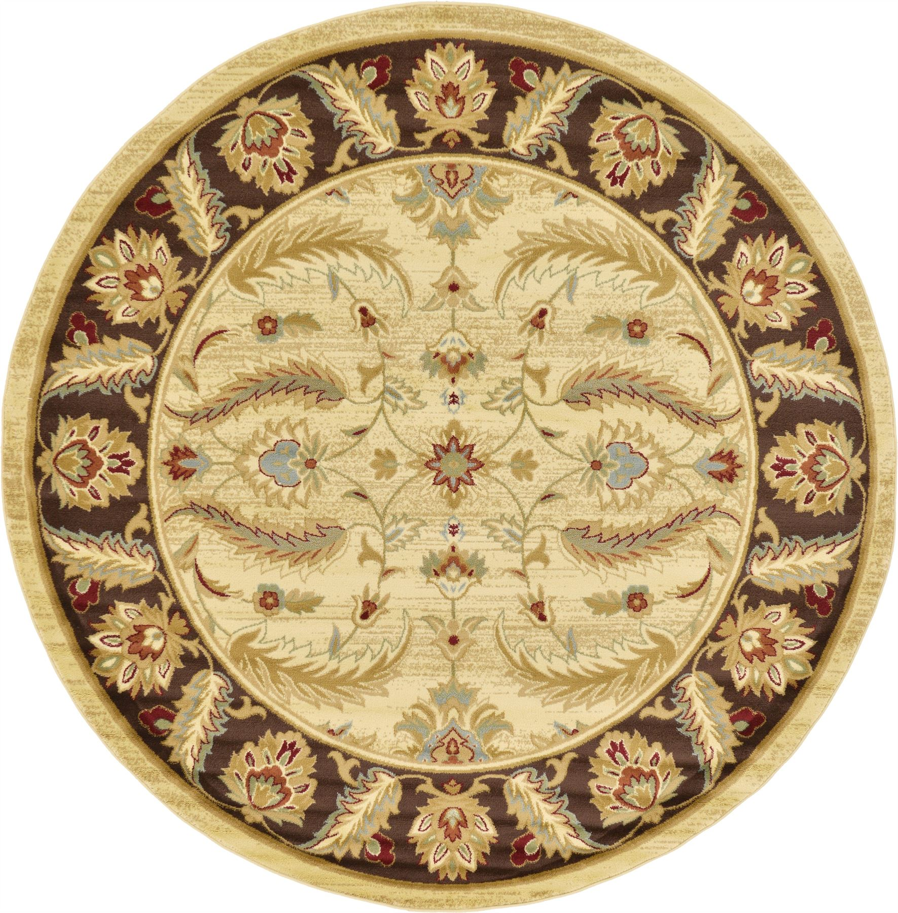 Traditional Style Persian Design Floral Area rug Oriental