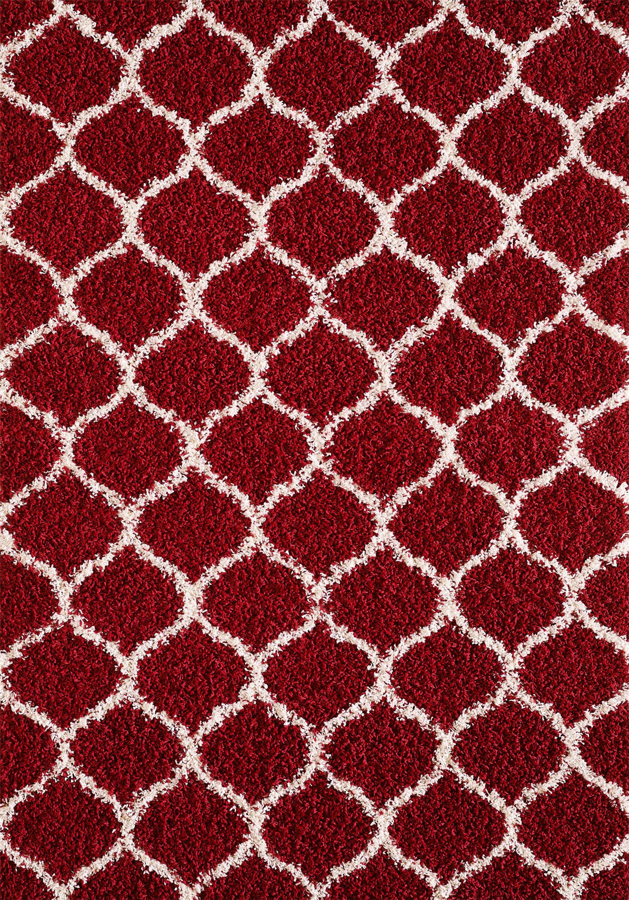 Dense-Pile-Trellis-Bedroom-Carpets-Thick-Shaggy-Rugs-Modern-Coloured-Pattern-Mat thumbnail 21