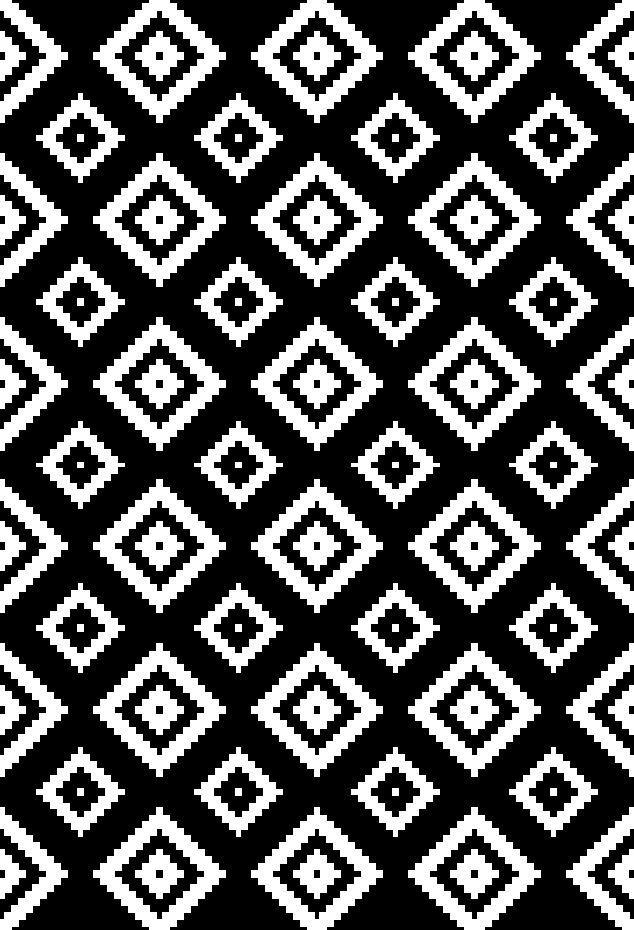 A2Z-Grande-Nero-Bianco-Grigio-Rug-contrasto-Aztec-Diamond-Moderno-Alla-Moda-tappeto-pedane miniatura 5