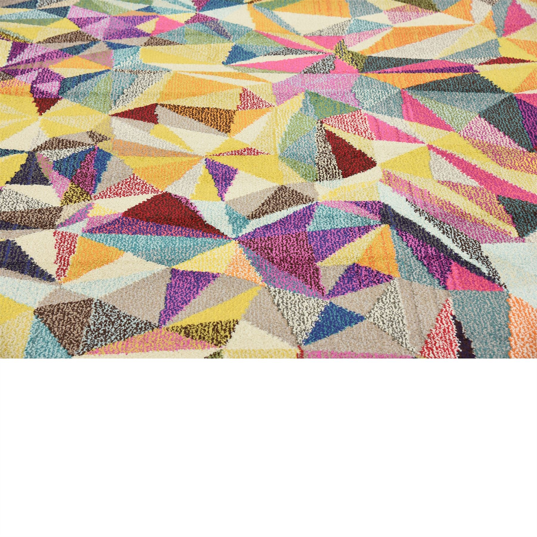 Modern Looking Rug: Multi Color Modern Design Area Rug Contemporary Style