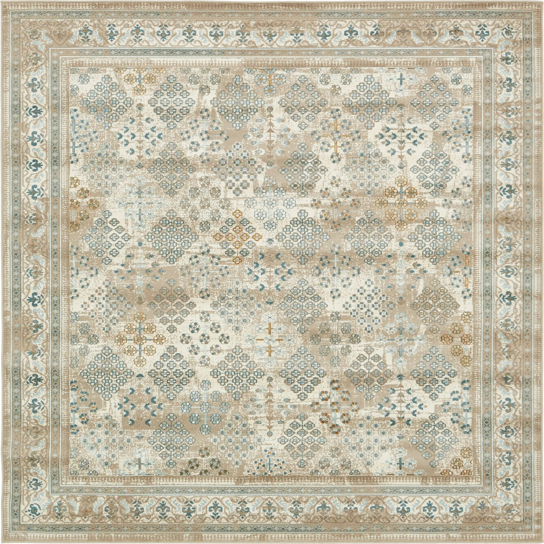 Modern Rugs Vintage: Area Rug Floor Carpet Floral Traditional Rugs Vintage