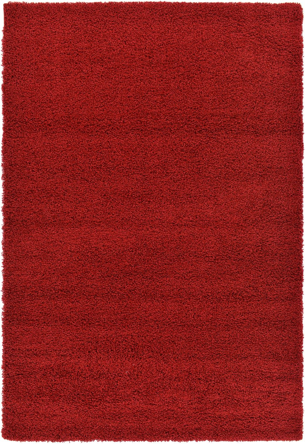 Modern Large Shag Area Rug Contemporary Small Carpet Red