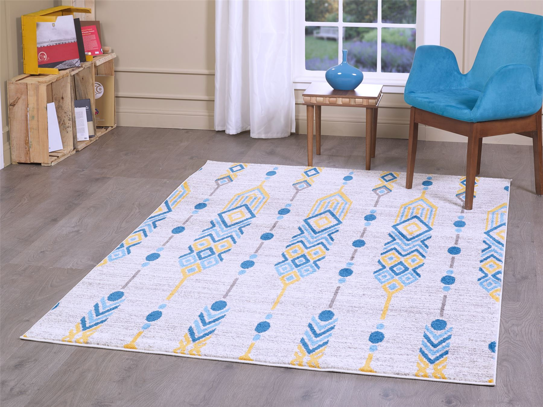 Details About A2z Rug Retro Geometric Rugs Aztec Pattern Modern Lounge Bedroom Area Carpets