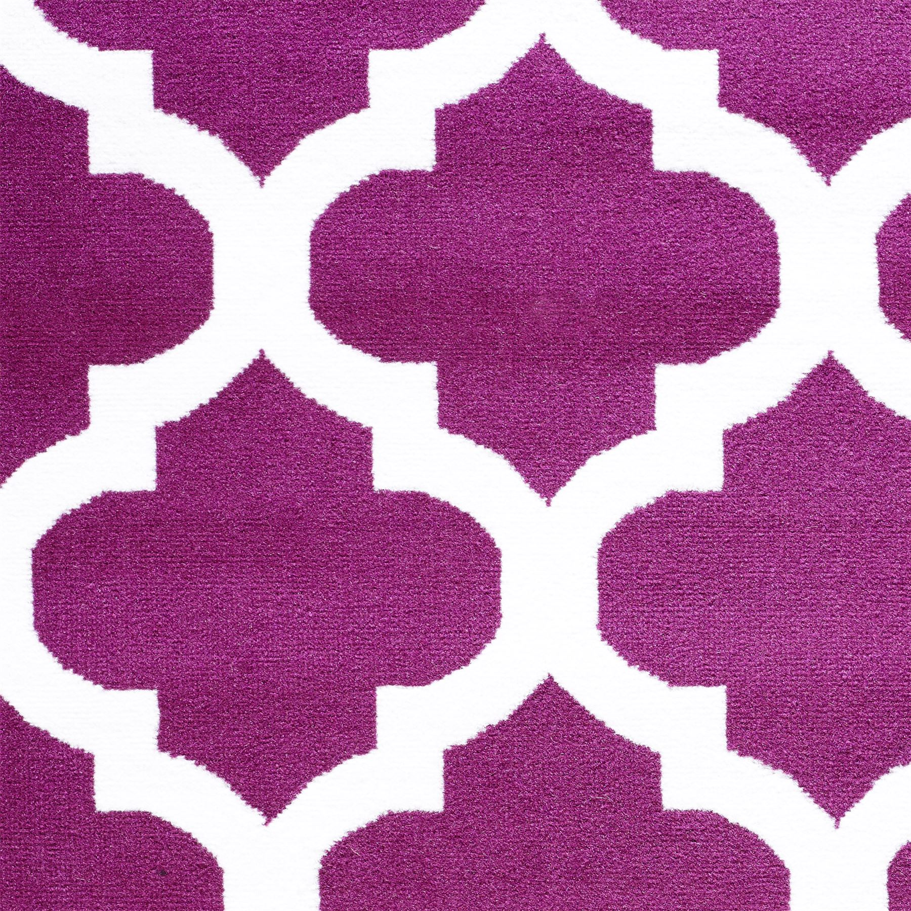 Nero-Rosso-Argento-Bianco-Viola-Moderno-Area-Tappeto-Traliccio-DESIGN-CUCINA-outdoorrug miniatura 14