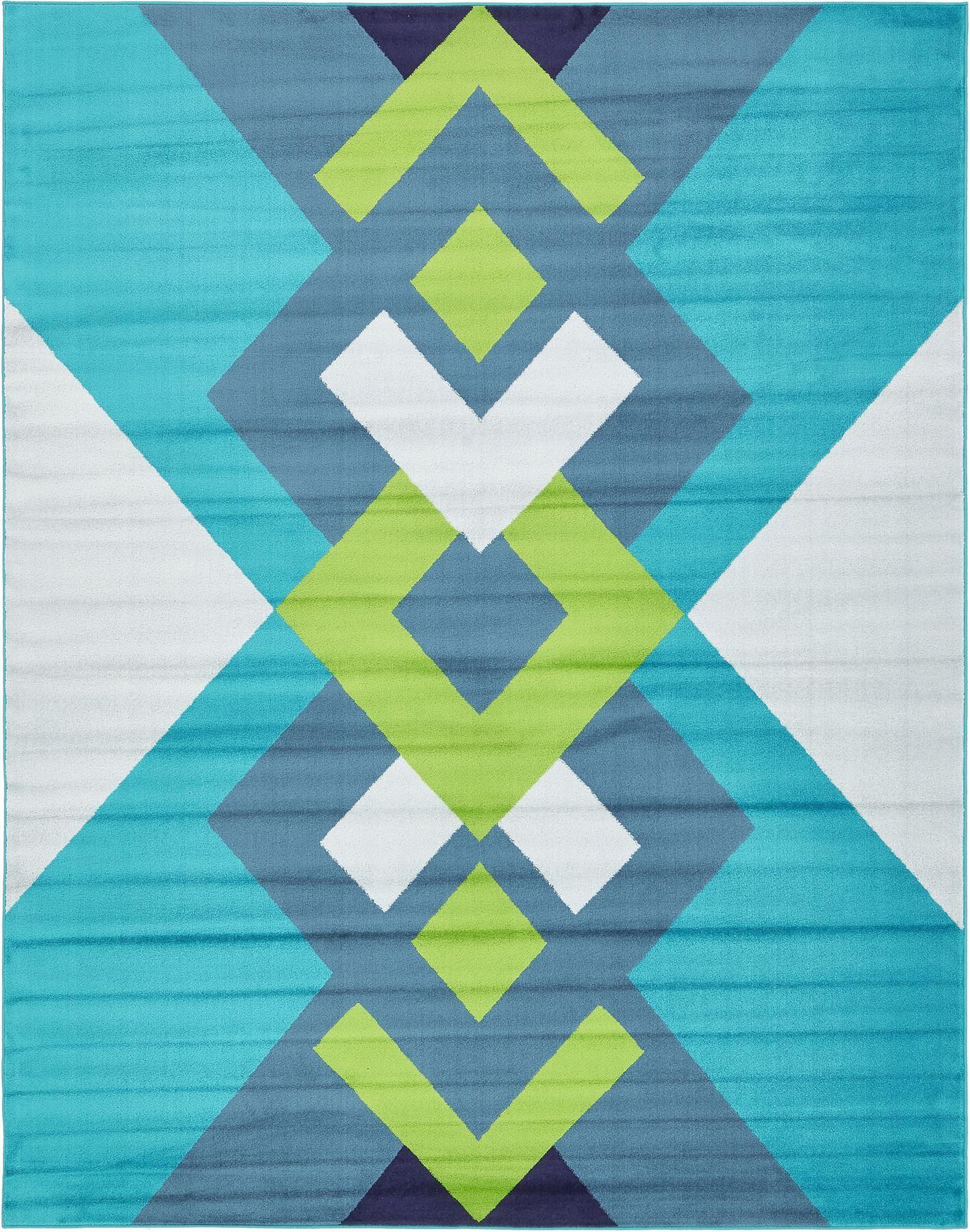 Fringeless Area Rugs Modern Floor Carpet Geometric Carpets