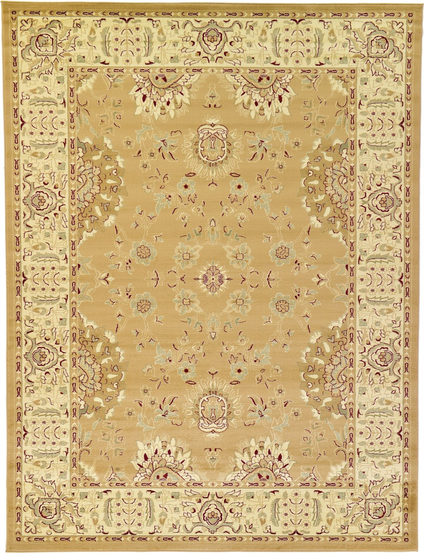 A2z Rug Traditional Oriental Area Rug Persian Style Carpet