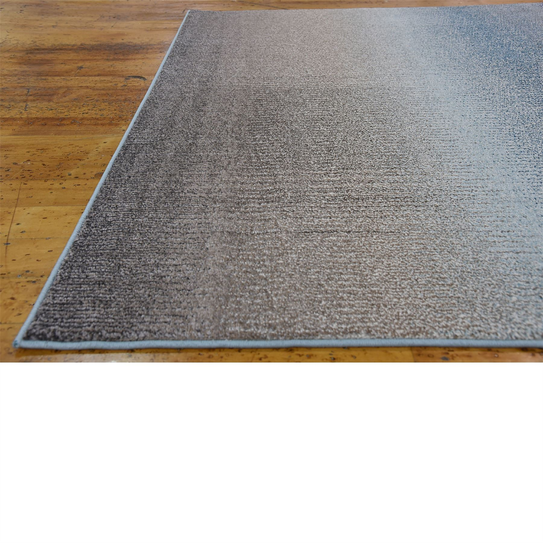 Modern Style Soft Blue Area Rug Contemporary Design Large