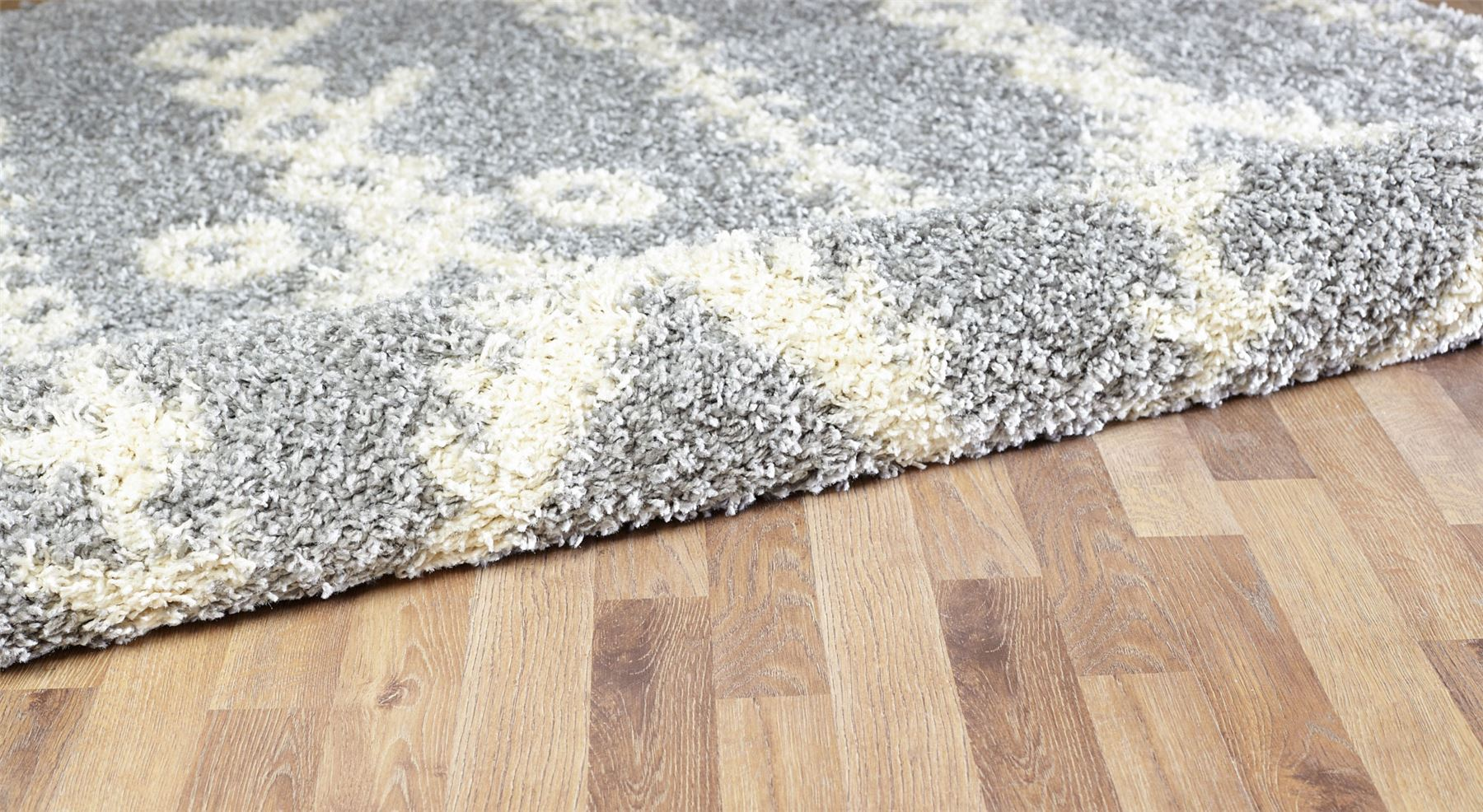 Moroccan-Shaggy-Area-Rug-Grey-White-Black-Soft-Carpet-Traditional-Berber-Designs thumbnail 26