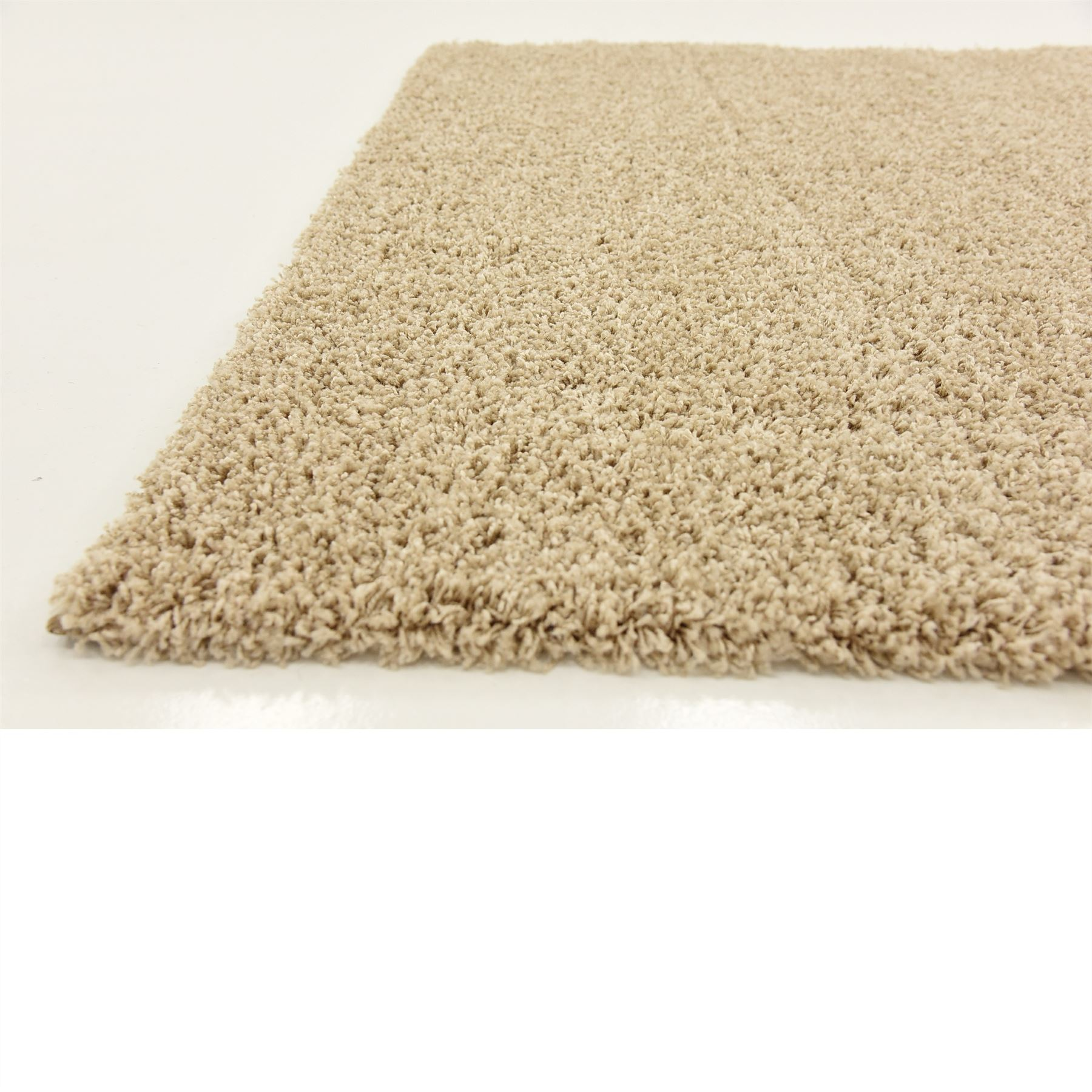 Soft thick shaggy area rug fluffy warm colour carpet small for Soft area rugs