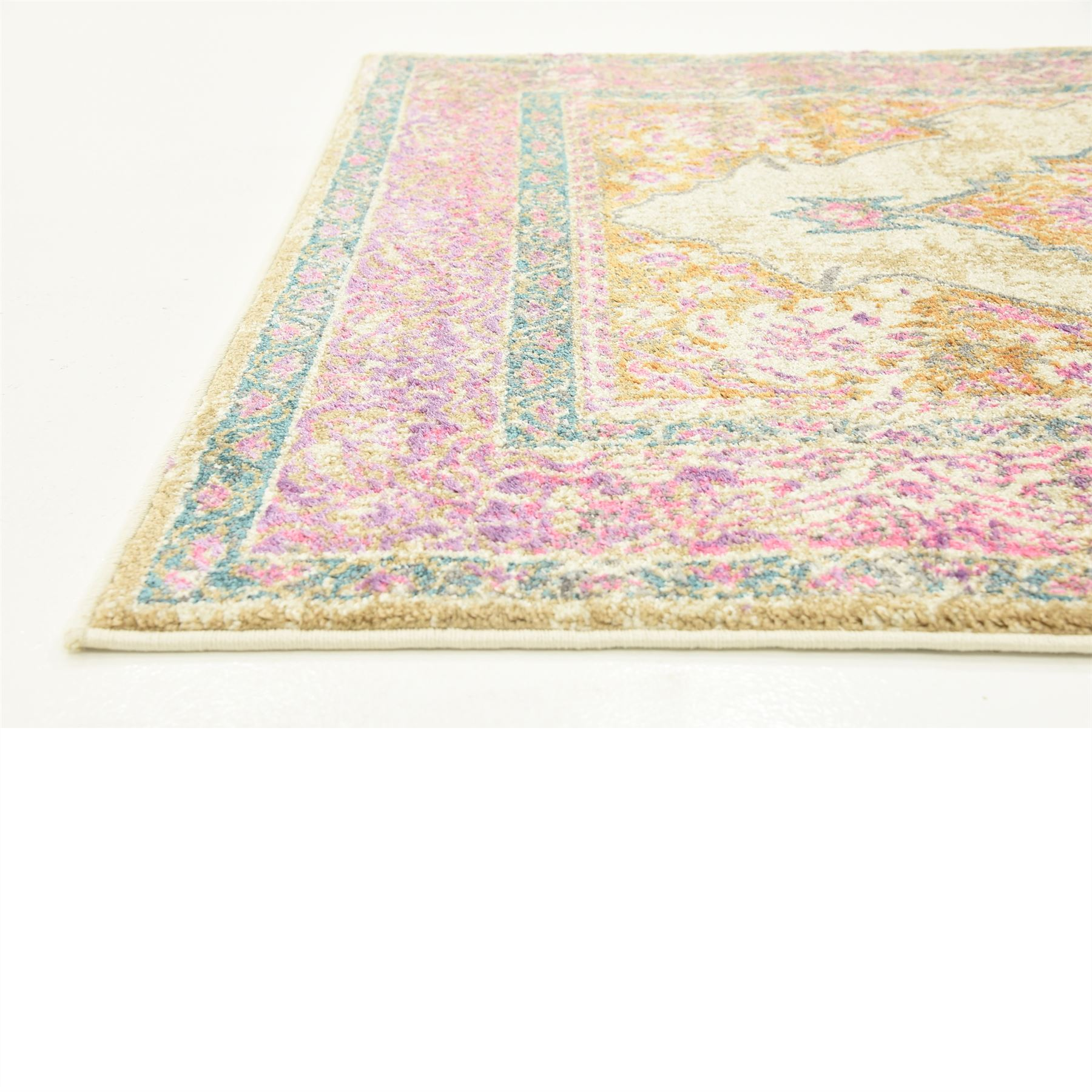 Traditional Vintage Style Persian Design Area Rug Oriental