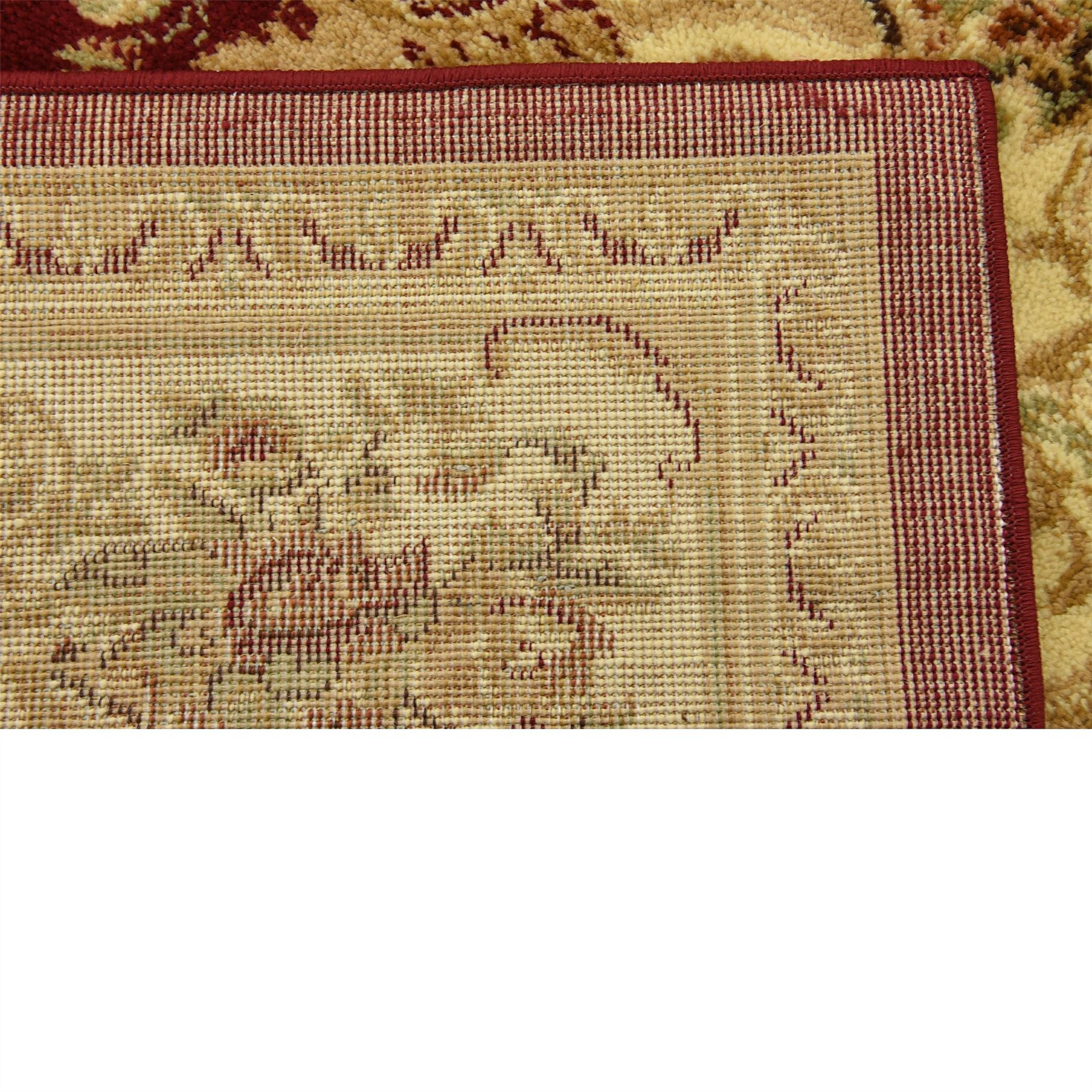 Oriental-Large-Area-Rug-Square-Traditional-Country-Round-Carpet-Medallion-Small thumbnail 47