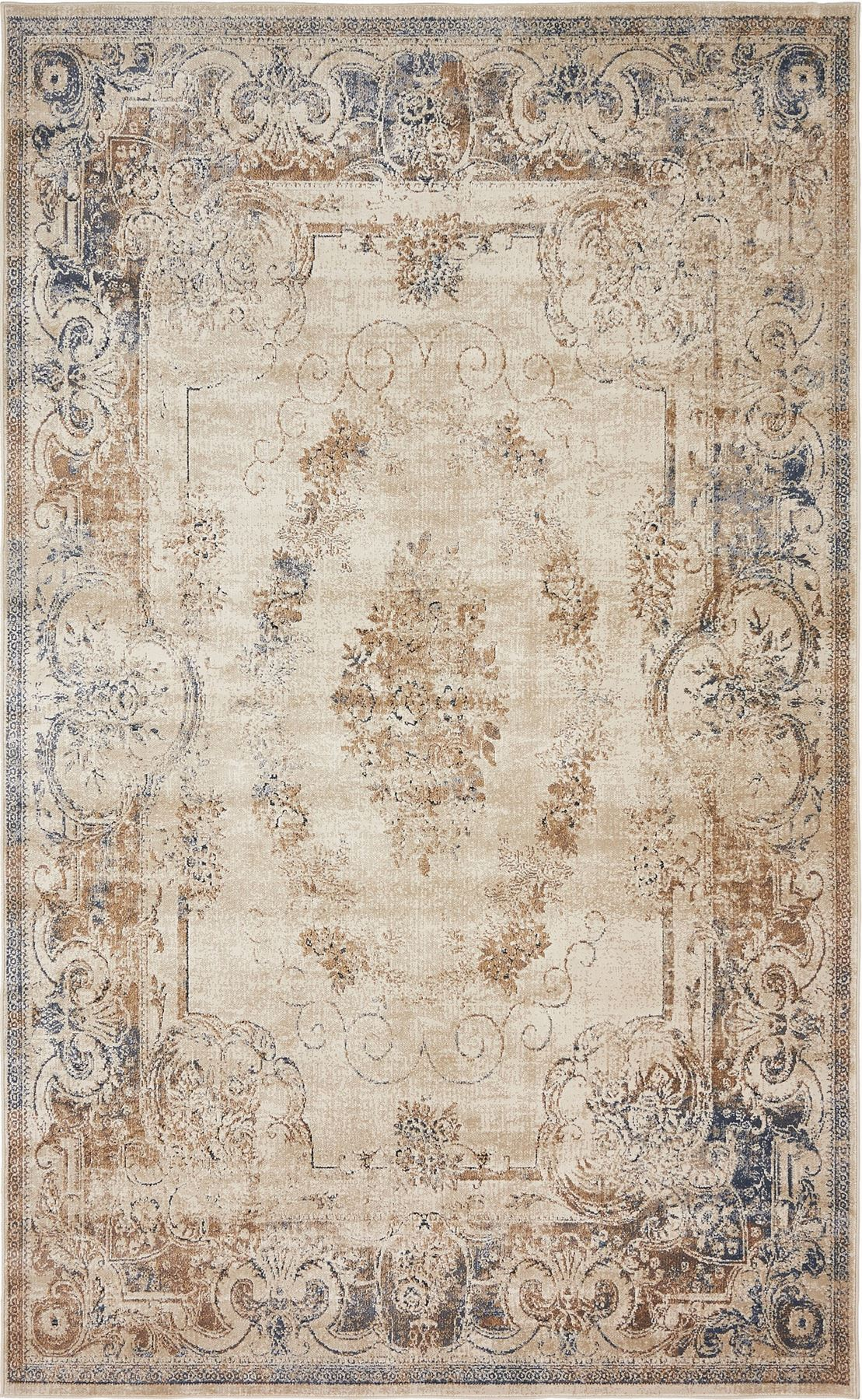 Traditional vintage style persian rug design oriental for Vintage style area rugs