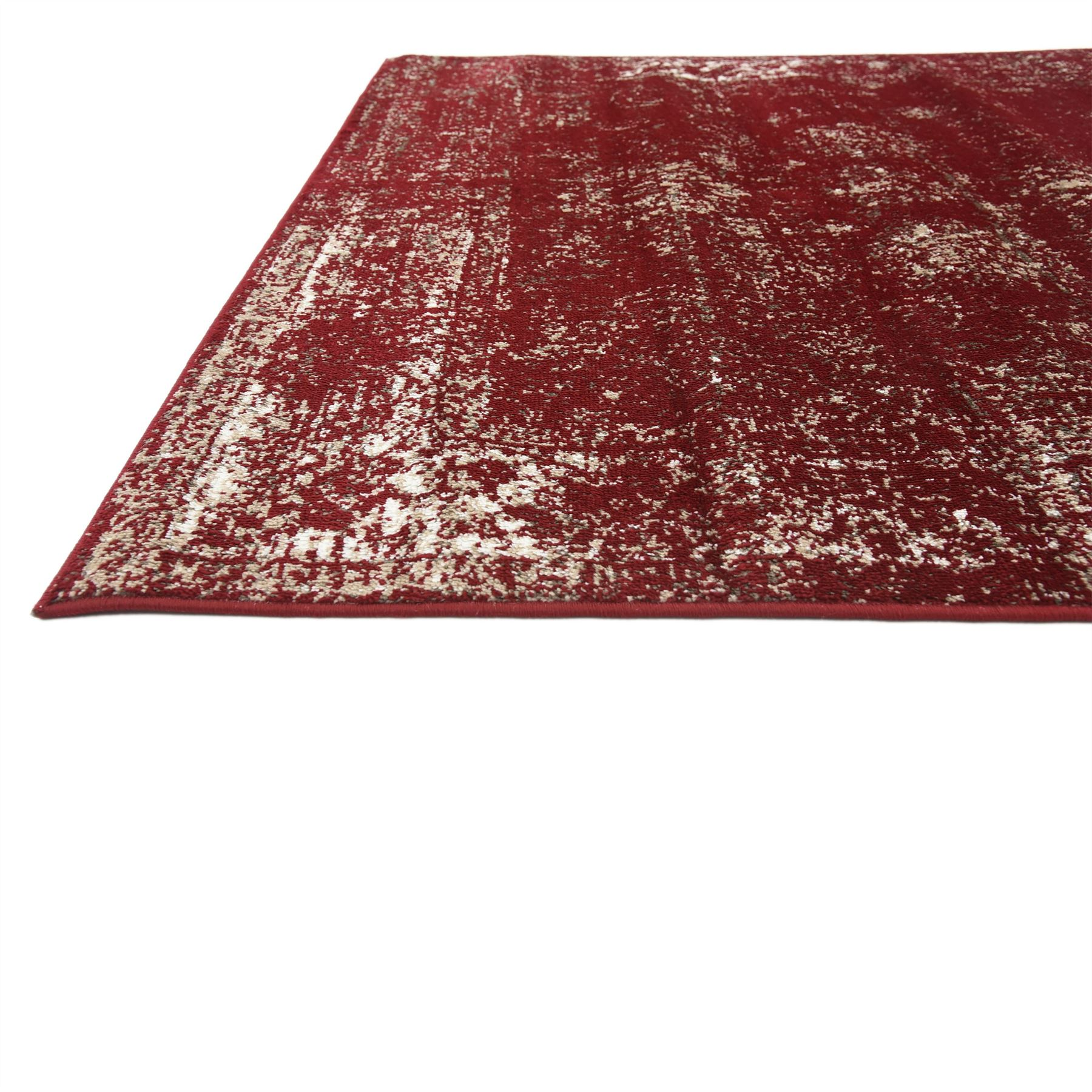 Transitional Faded Vintage Design Persian Style Carpet