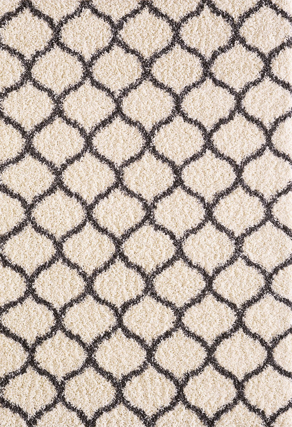 Dense-Pile-Trellis-Bedroom-Carpets-Thick-Shaggy-Rugs-Modern-Coloured-Pattern-Mat thumbnail 15