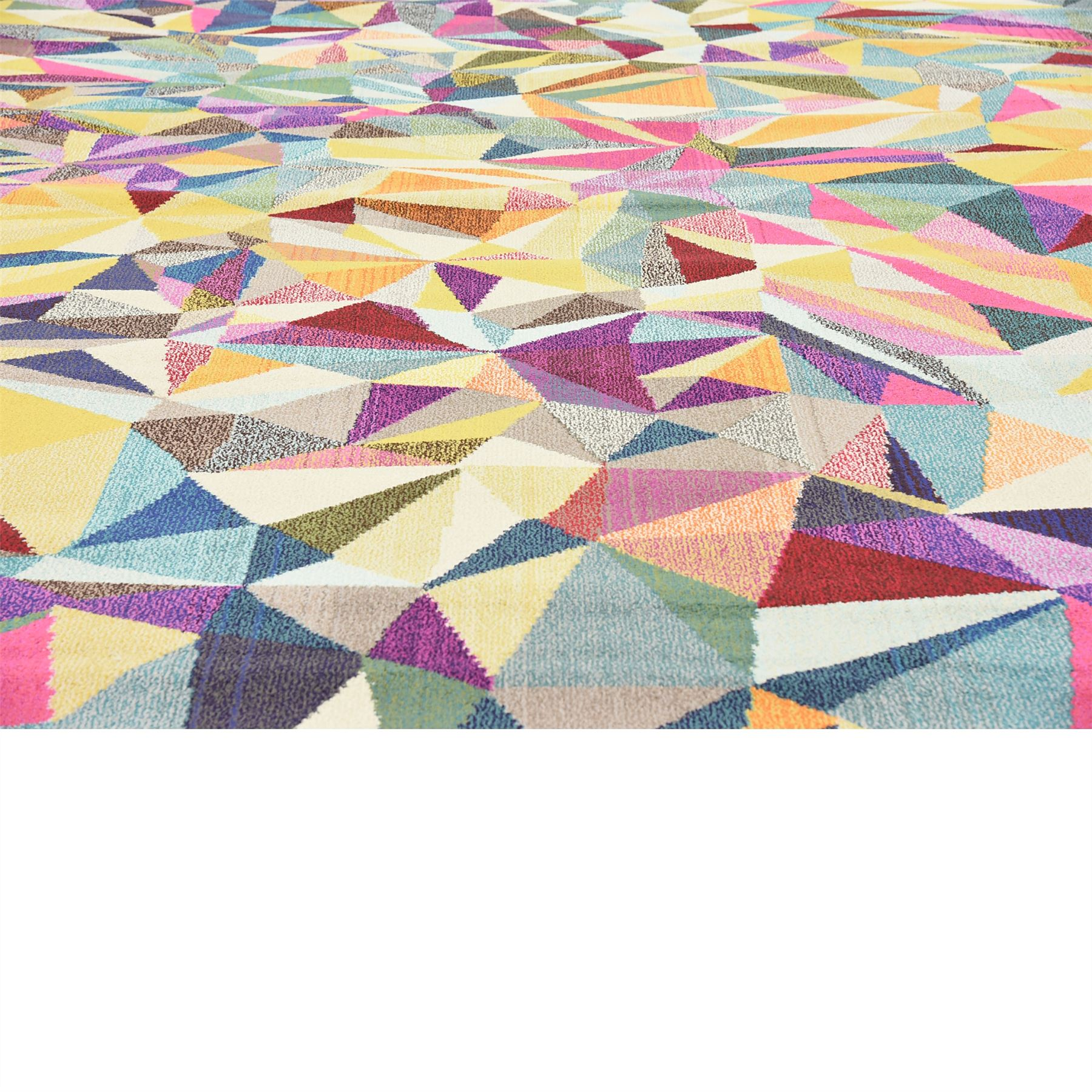 Minimalist Colorful Rug Designs: Multi Color Modern Design Area Rug Contemporary Style