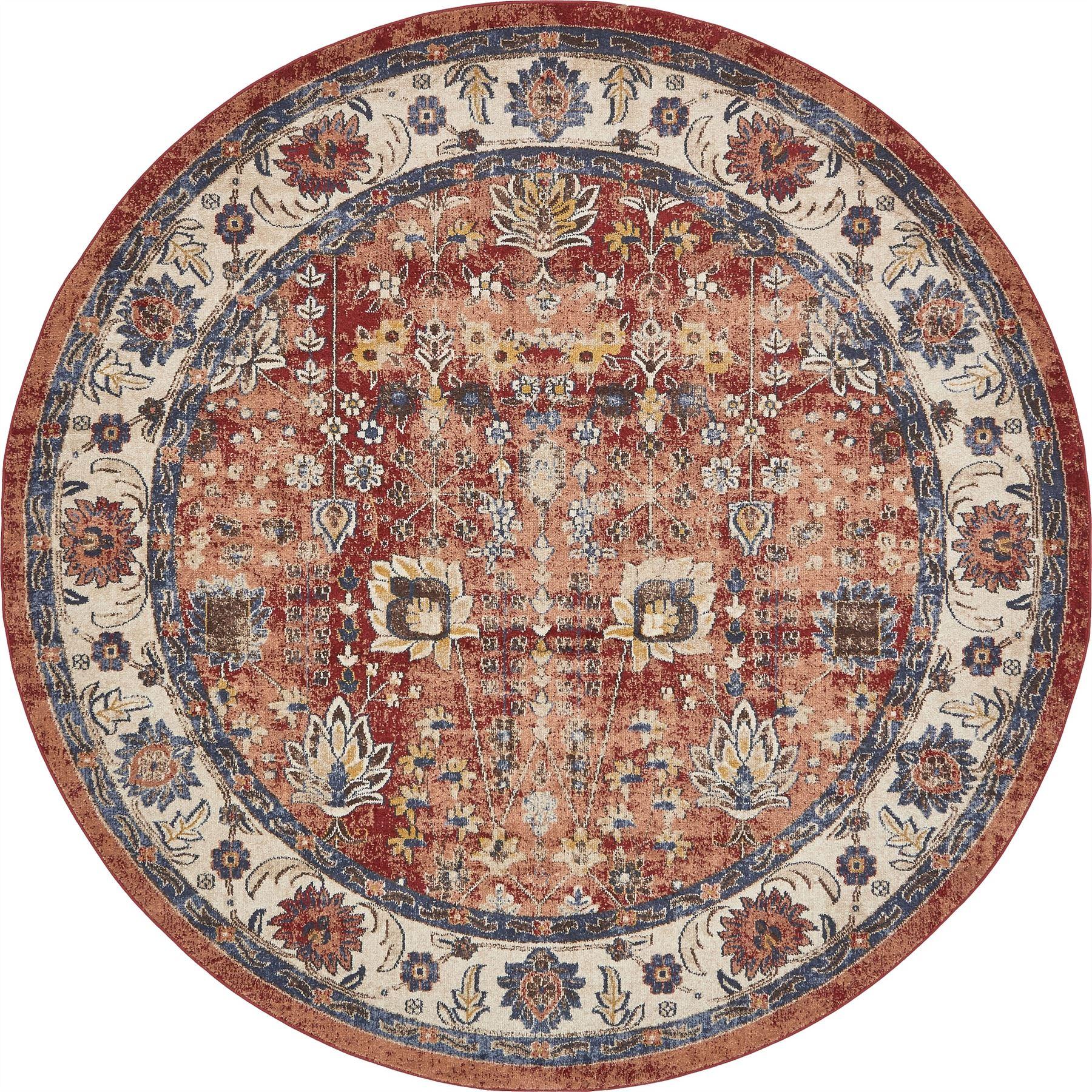 Fringeless Traditional Rug Overdyed Vintage Carpet Floor