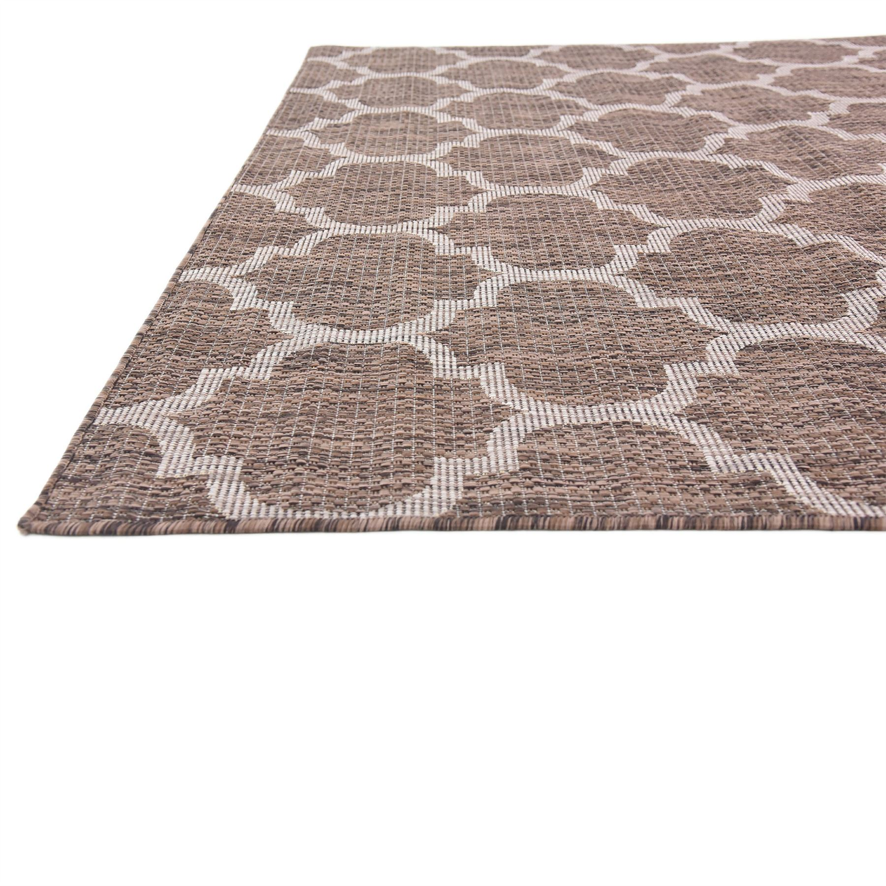 Modern Looking Rug: Modern Geometric Contemporary Moroccan Style Carpet Large