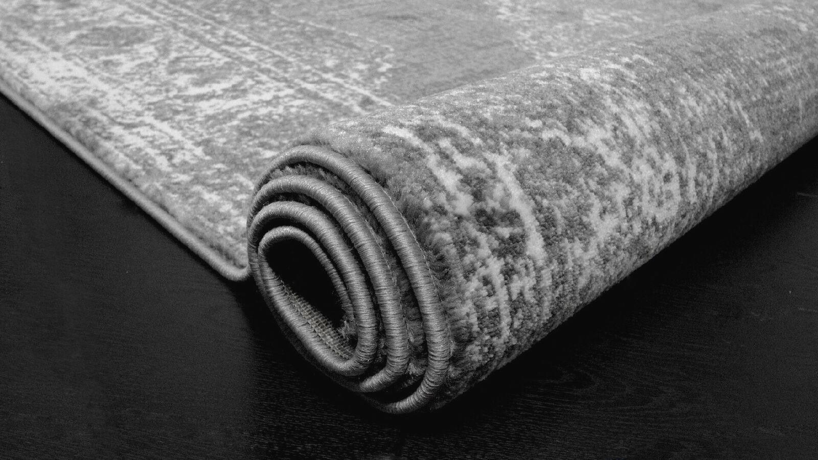 Large-Grey-Living-Room-Rugs-Medallion-Design-New-Classic-Modern-Hallway-Runners thumbnail 5