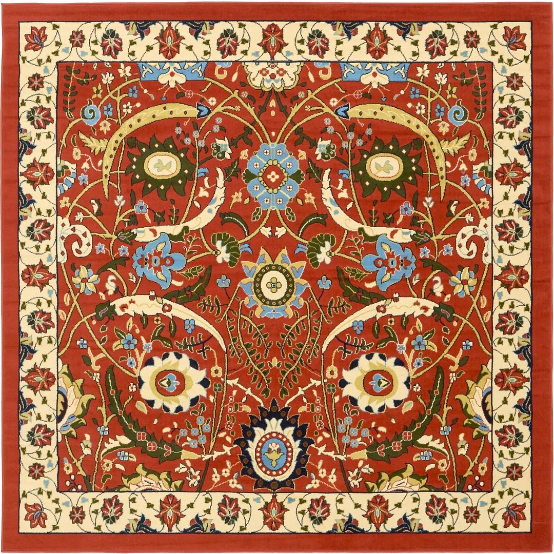 Persian Rugs Images: Traditional Persian Design Rug Large Oriental Small Floral