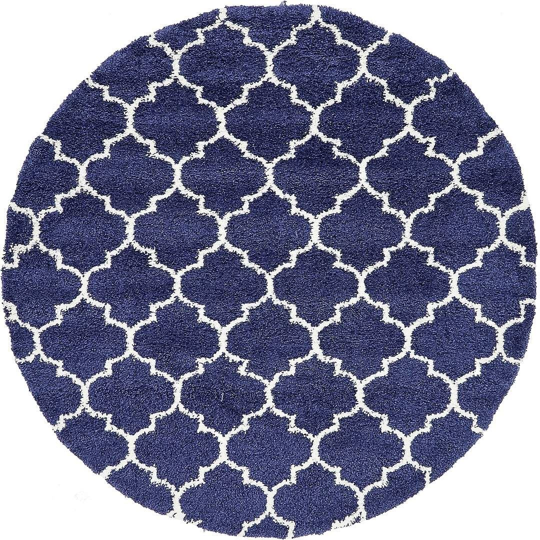 Moroccan Inspried Latice Design Soft Thick Area Rug