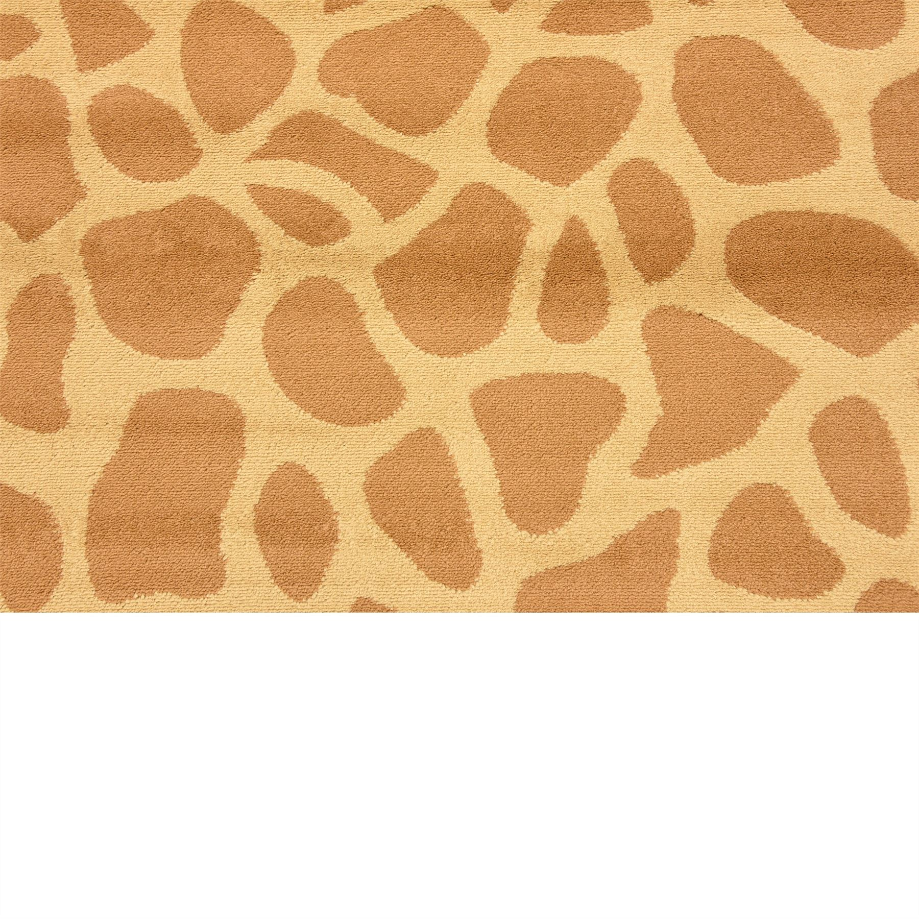 Giraffe Skin Modern Safari Style Area Rug Contemporary