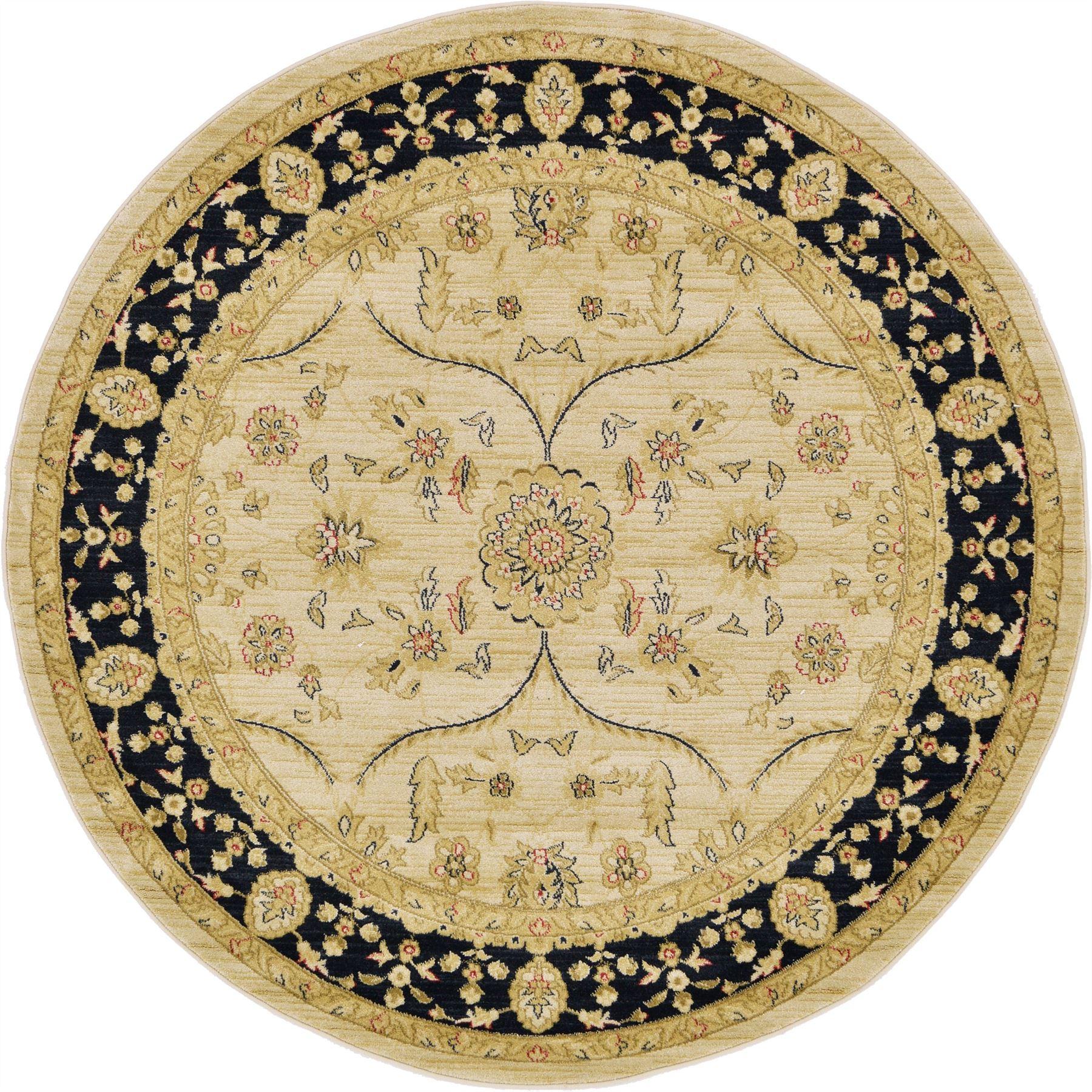 Traditional Oriental Persian Eastern Elaborate Design Soft