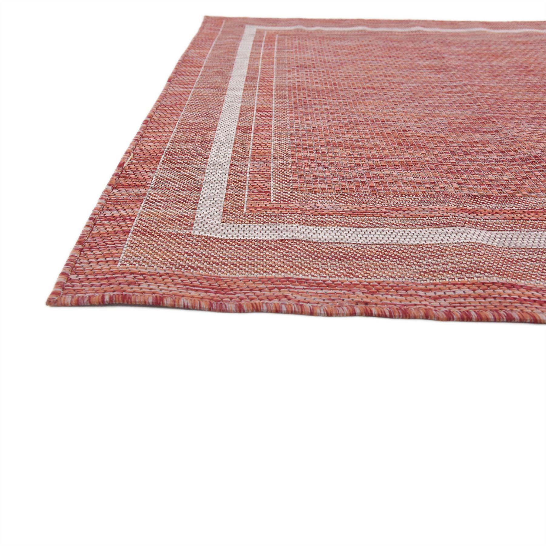 Contemporary Outdoor Area Rugs: Modern Thin Plain Outdoor Area Rug Contemporary Border