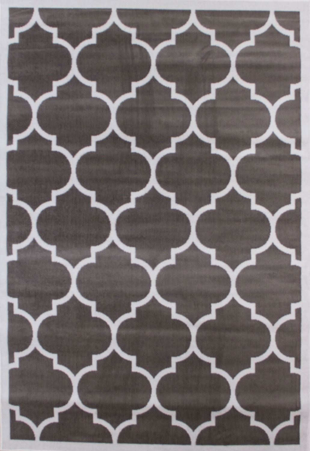 Large modern geometric moroccan trellis thin carpet for Geometric print area rugs