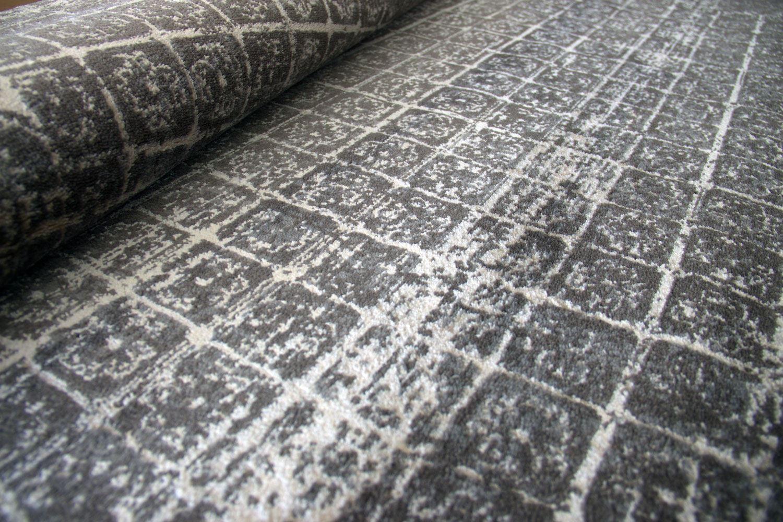 A2Z-Alfombra-Moderno-Alfombra-Gris-Beige-oscuro-patron-de-diseno-de-sombra-geometrica-Tapetes miniatura 11