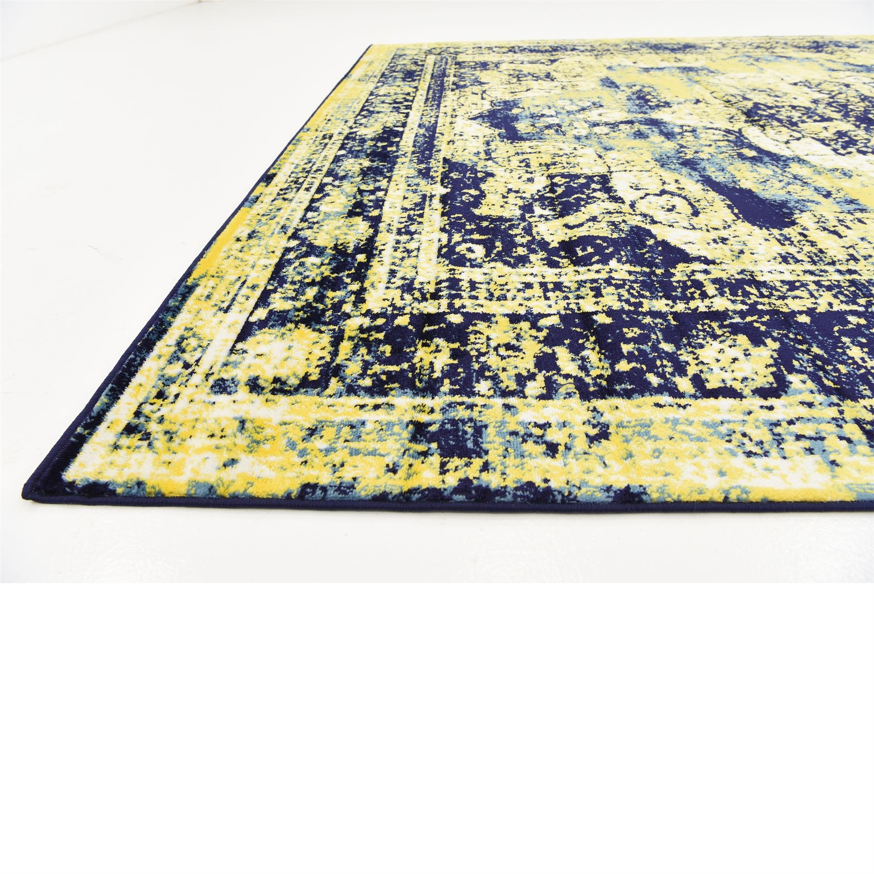 Traditional-Inspired-Persian-Faded-Transitional-Area-Rug-Multi-Color-ALL-SIZES thumbnail 34