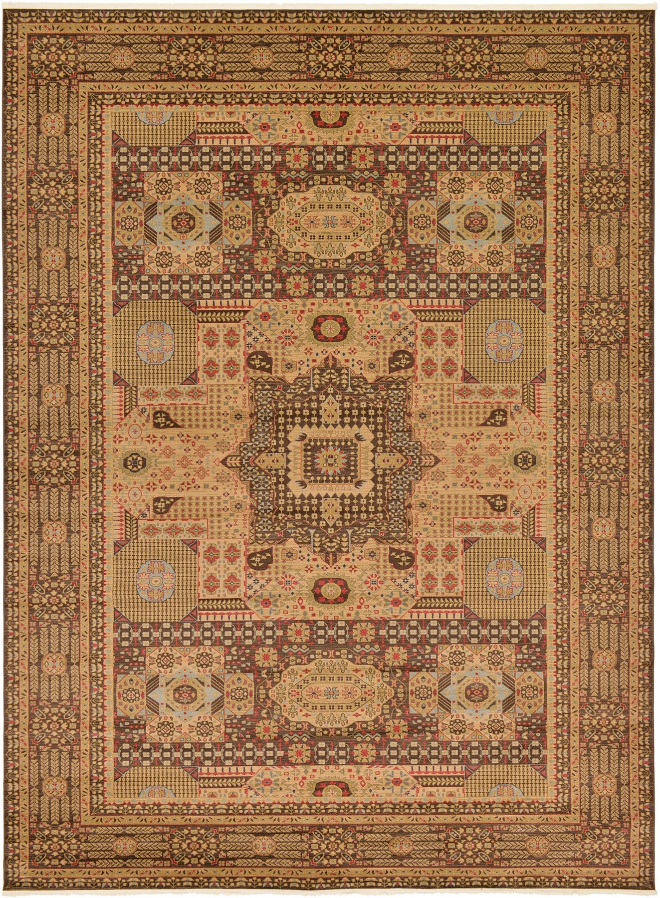 Medallion Carpet Traditional Rugs Floral Area Rug Vintage