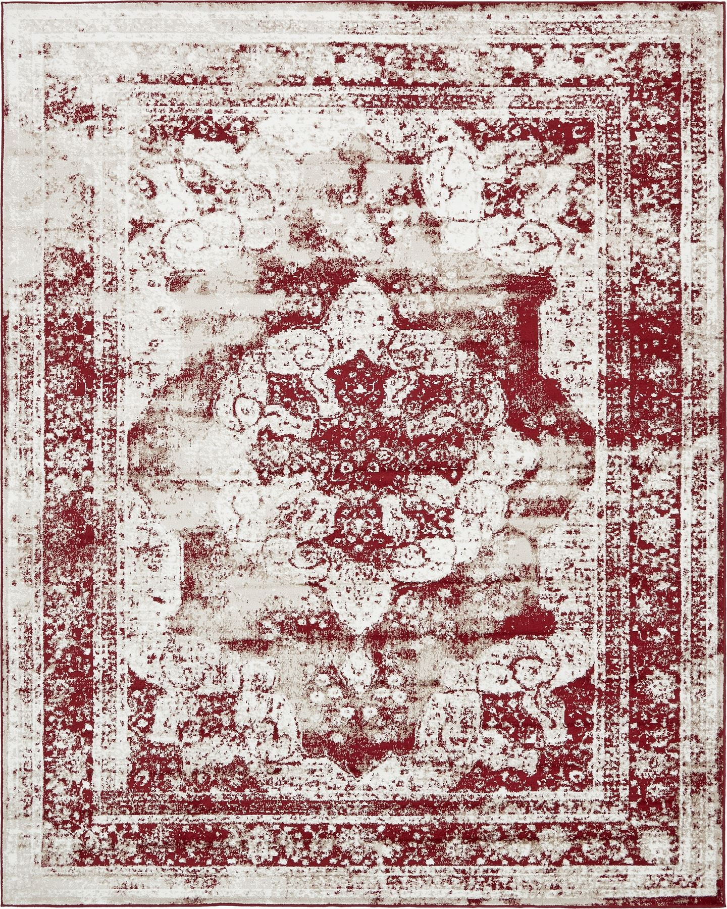 Traditional Inspired Persian Faded Transitional Area Rug