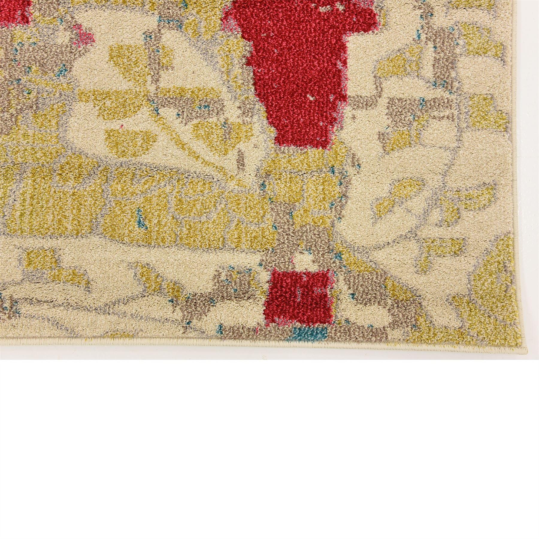 Do Area Rugs Work Over Carpet: Fringeless Floor Rug Area Carpet Over-dyed Catpets Modern