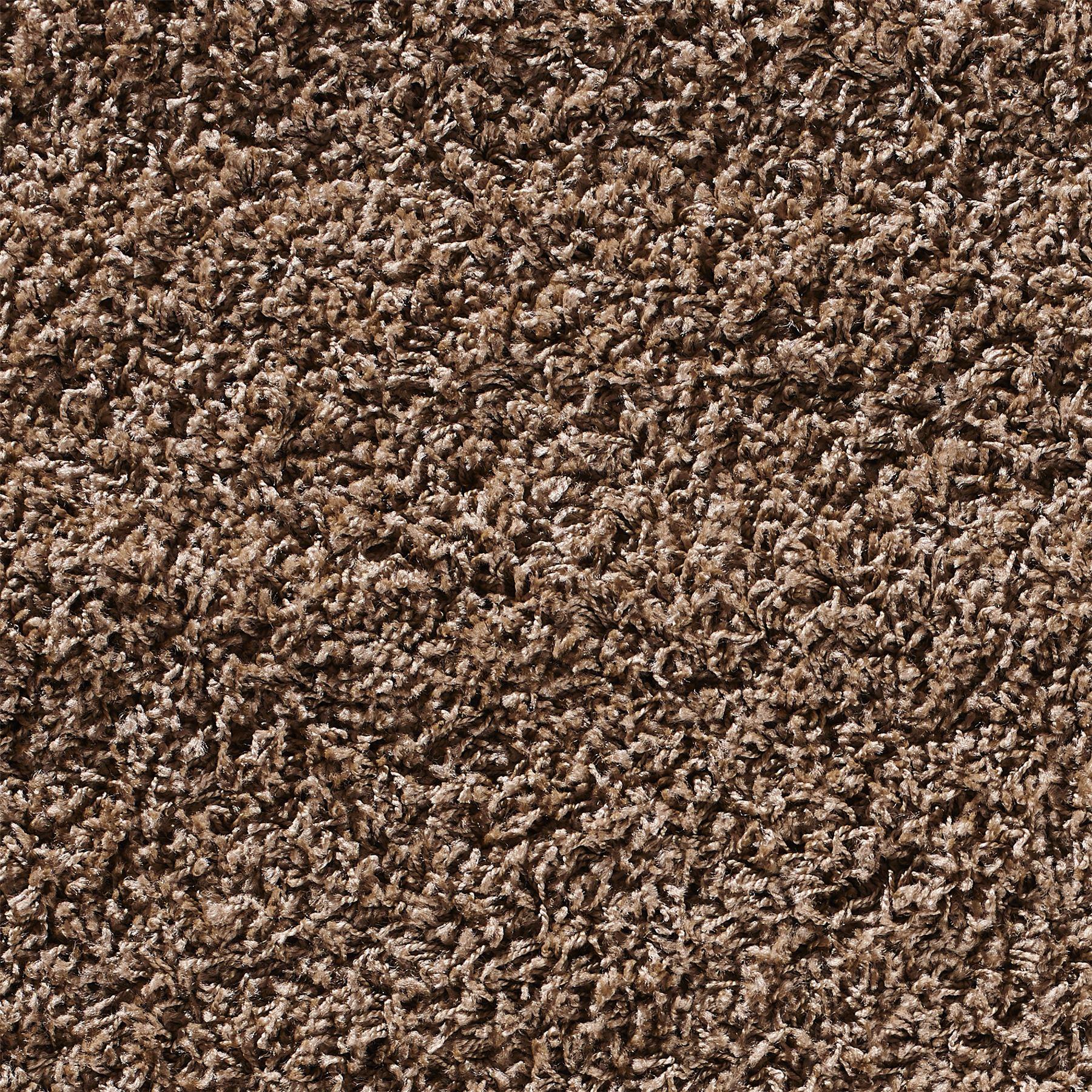 Shaggy Wool Rugs: Retro Modern Light Brown Shaggy Rug Warm Soft Fluffy