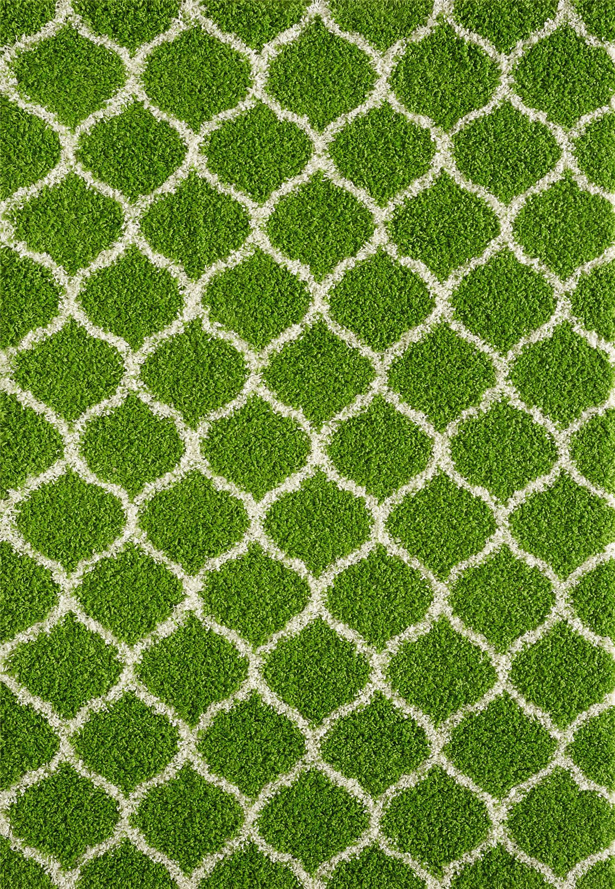 Dense-Pile-Trellis-Bedroom-Carpets-Thick-Shaggy-Rugs-Modern-Coloured-Pattern-Mat thumbnail 12