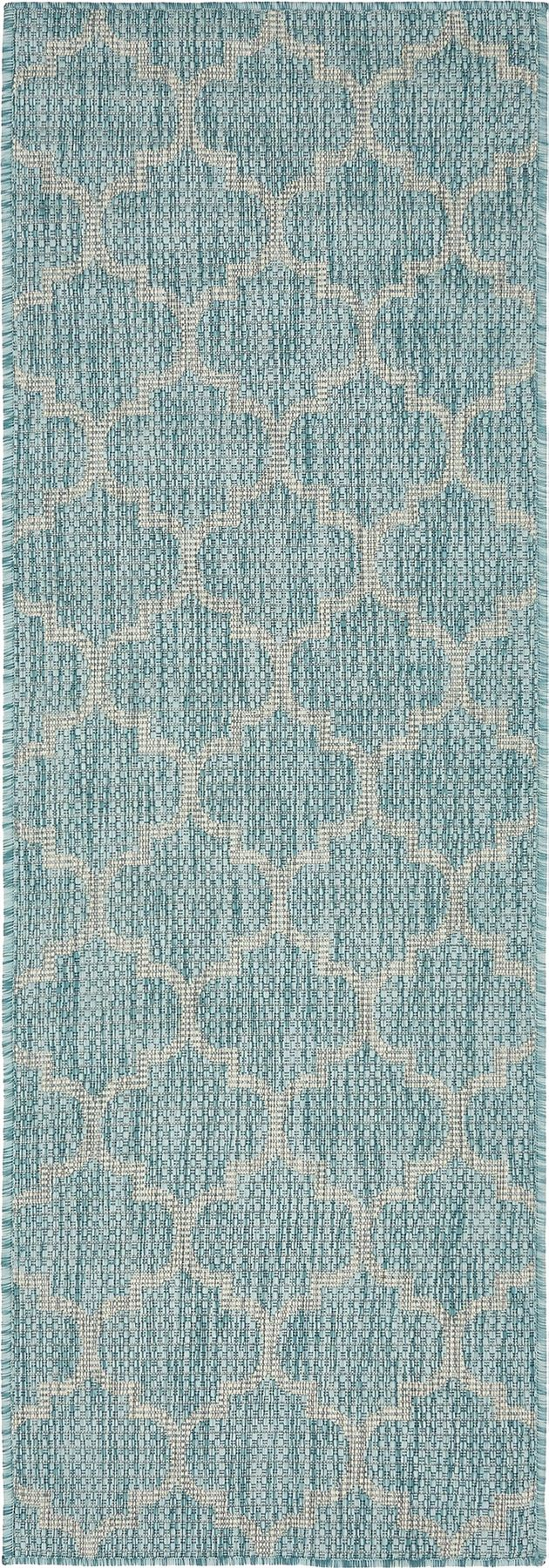 Modern Geometric Contemporary Moroccan Style Carpet Large