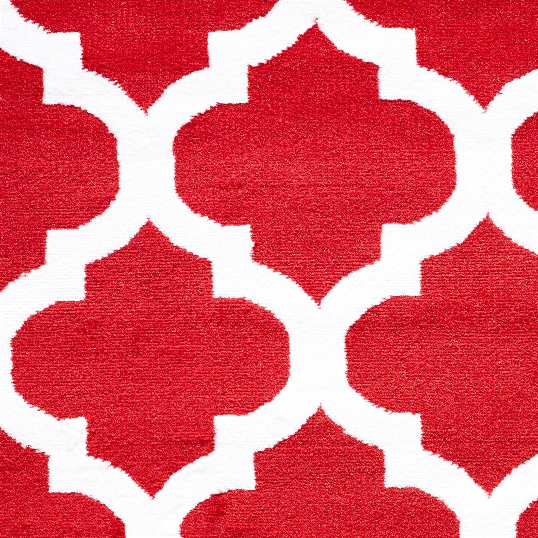 Nero-Rosso-Argento-Bianco-Viola-Moderno-Area-Tappeto-Traliccio-DESIGN-CUCINA-outdoorrug miniatura 22